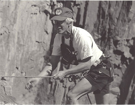 Dad black white climb rescue team.jpg