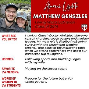 Matthew Genszler - Alumni Update.png