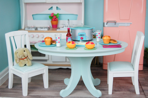 The Table And Chairs Are A Retired Set From American Girl. Part 98
