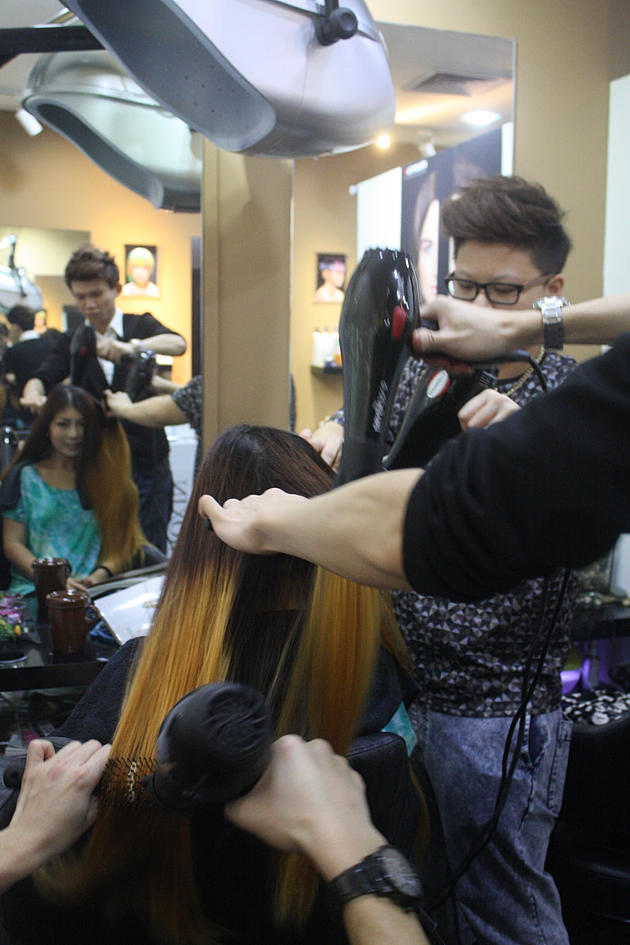 D'sire Hair Syrena Singapore's first ombre hair mermaid