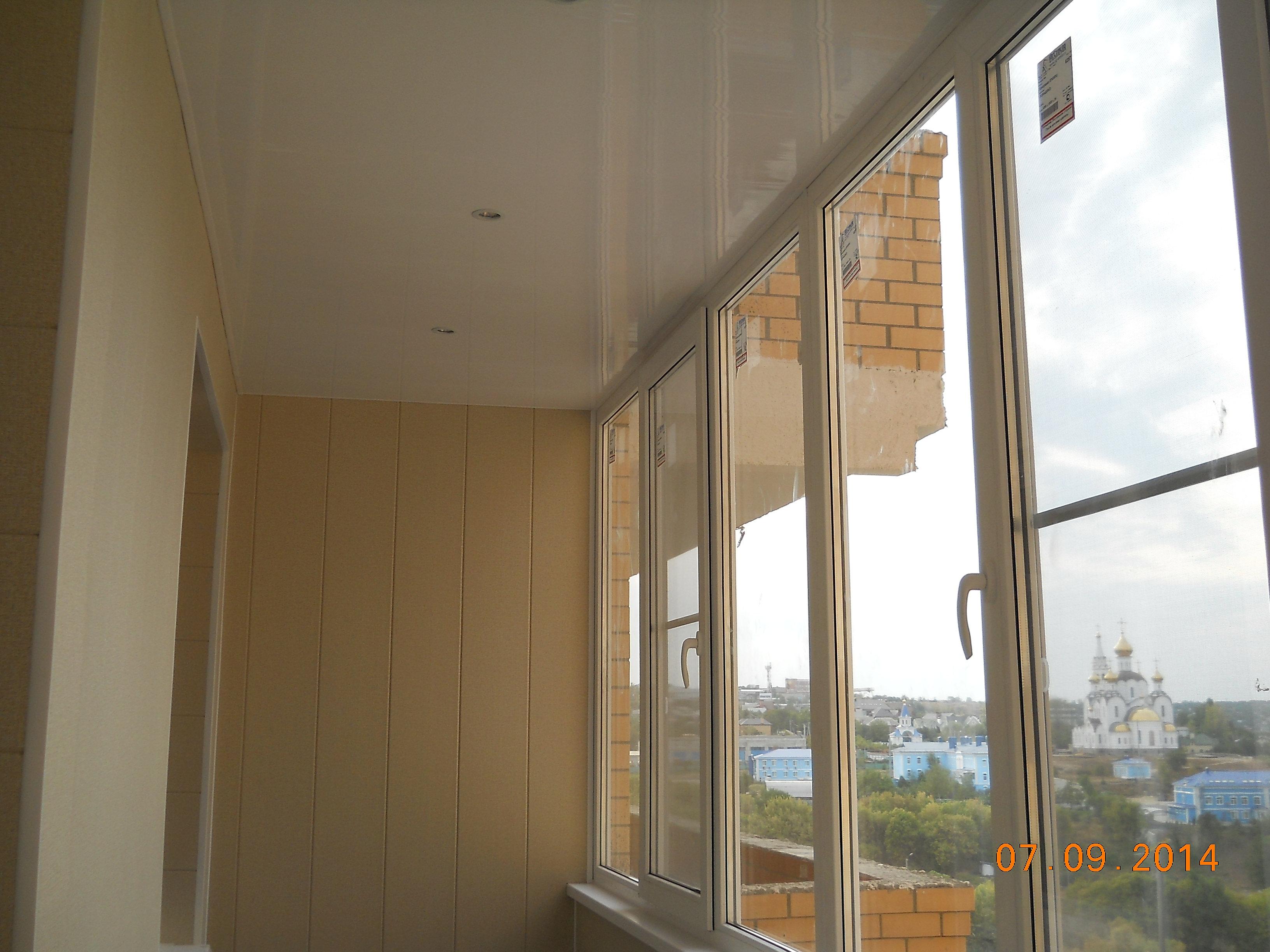 Ремонт балконов и лоджий под ключ.