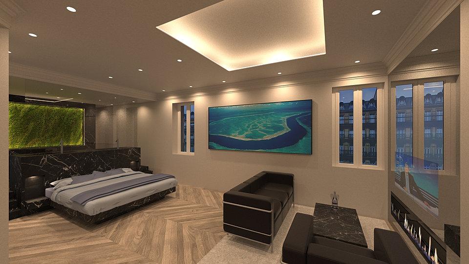 R novation compl te d 39 un appartement par atelier burel sebag for Architecte d interieur france 5