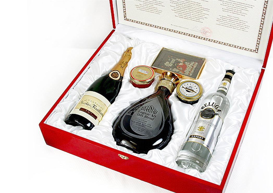 Алкогольный подарок парню