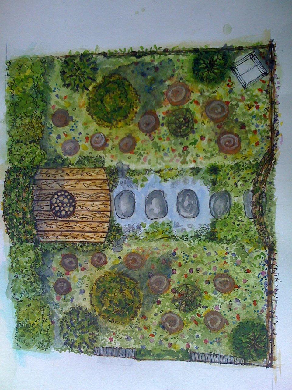 Juniper House Garden Design : Jeni cairns juniper house garden design peterborough the