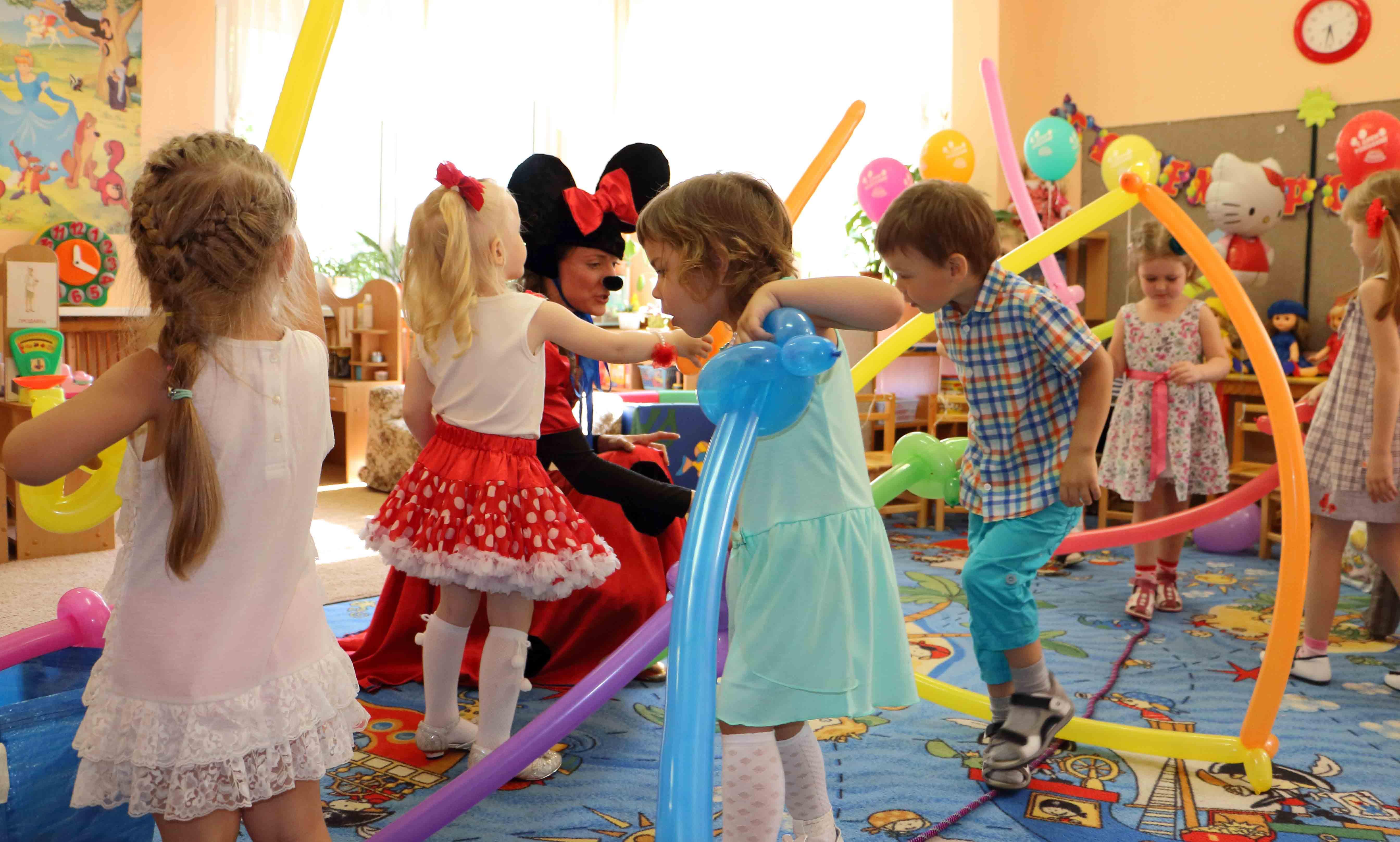 Аниматоры в детский сад Ф детские праздники Строгино