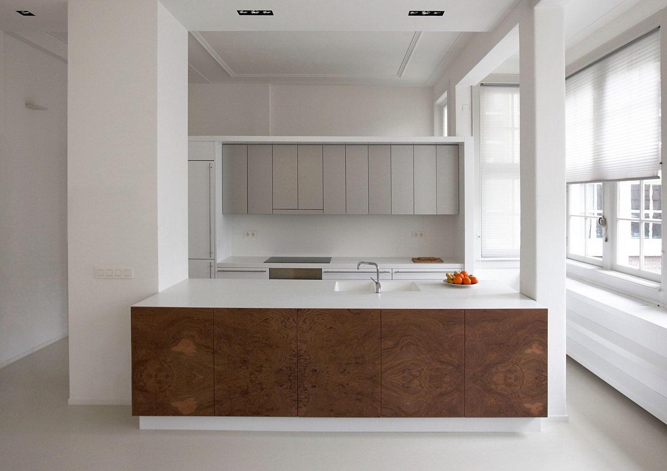 Maatwerk Greeploze Keuken: Maatwerk greeploze keuken hoogglans wit ...