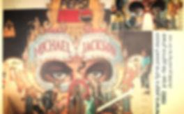 ג'ק רובינסון - תפאורה להופעה מייקל ג'קסון