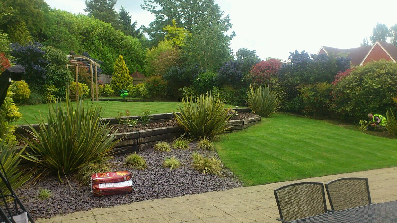 Garden service gardener regular garden maintenance for Local landscapers