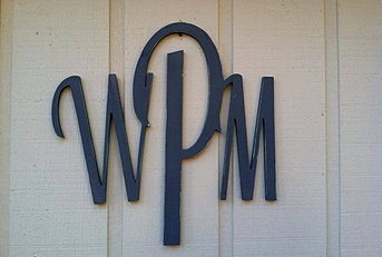 Kennys Custom Woodworking   Monograms, Letters, & Carvings