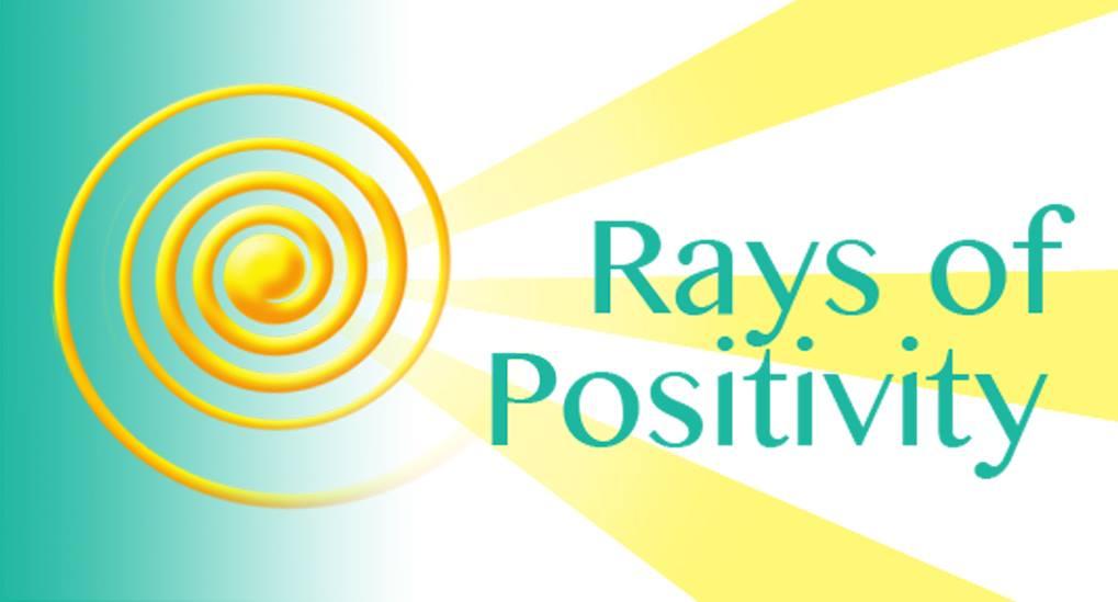 Rays Of Positivity
