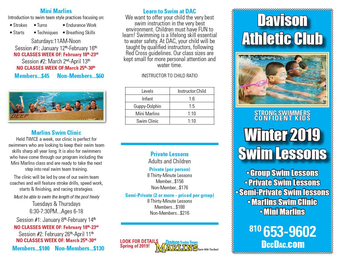 2019 Swim Lessons News Events