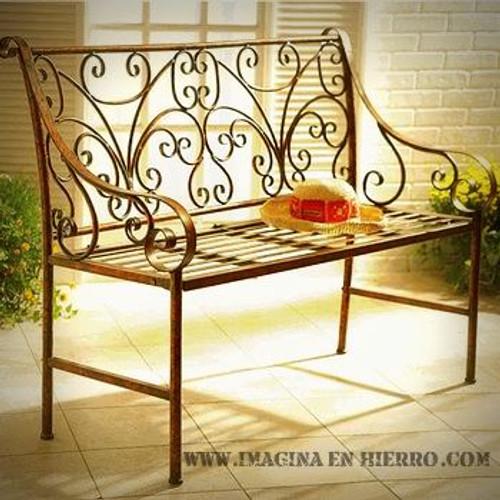 Imagina en hierro muebles de hierro forjado artesanales for Muebles de jardin de hierro forjado