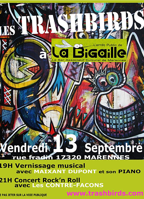 Vernissage Trash Birds