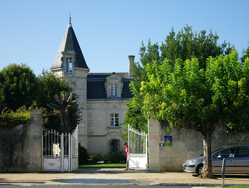 A bourg sur gironde chambres d 39 h tes annick poissonneau - Chambres d hotes meschers sur gironde ...