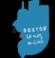 boston nez en l'air logotype