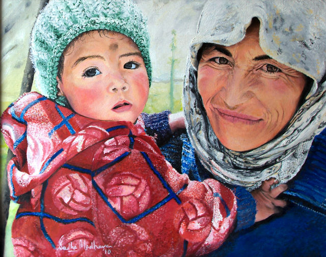 6. Mother and Infant, A Tribute to Ladak