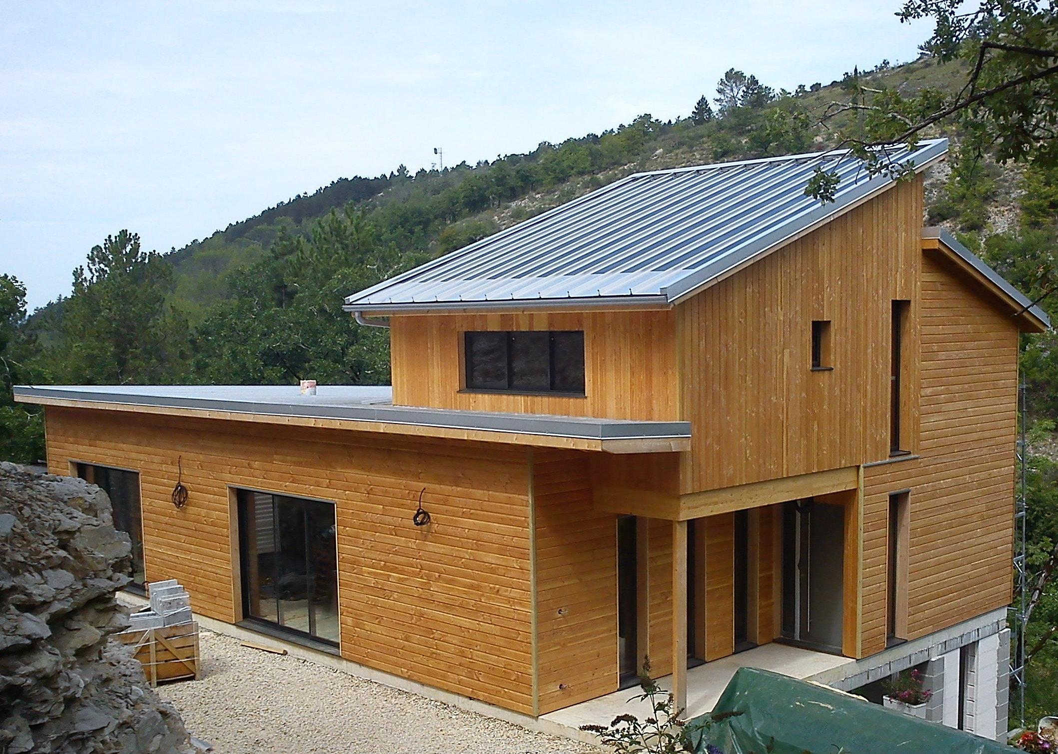 Construction ecologique maison bois cahors batitec for Architecture maison bois