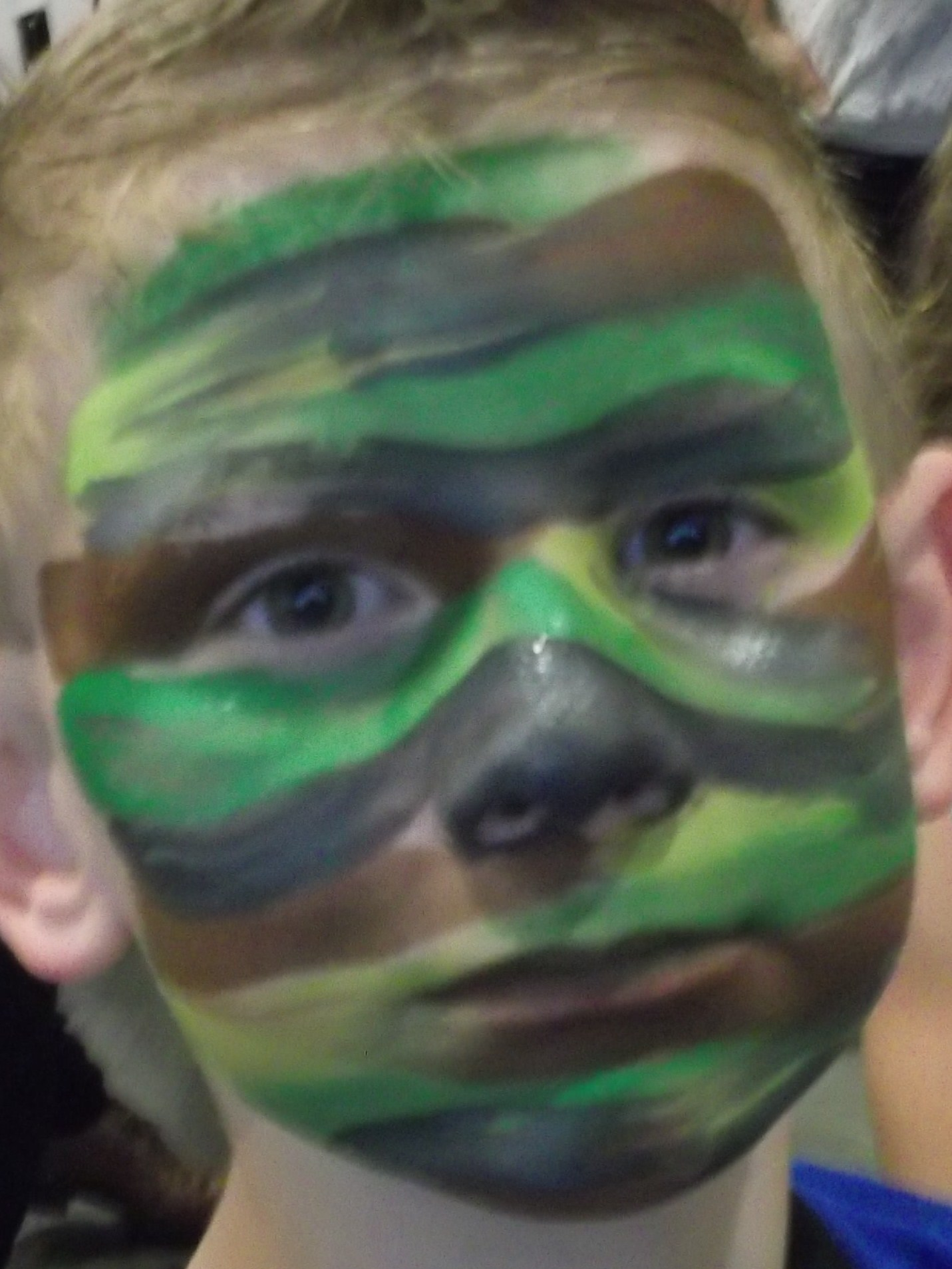 Gallery For gt Camo Face Paint Kids