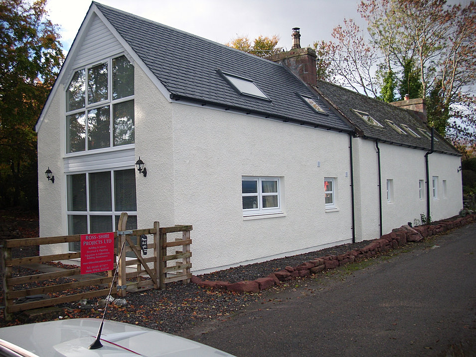 Highland designs architectural consultants based in for Cottage extension designs