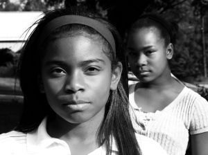 2 black girls - black and white.jpg