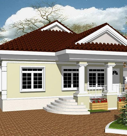 Bungalow In Pd: Residential Building Plans In Nigeria