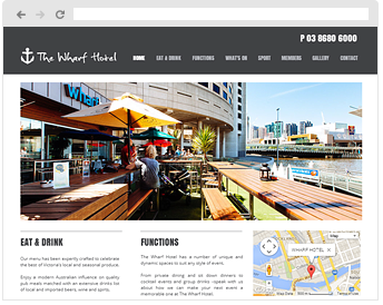 The Wharf Hotel