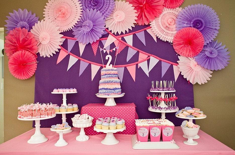 Как украсить дом на день рождения девочке