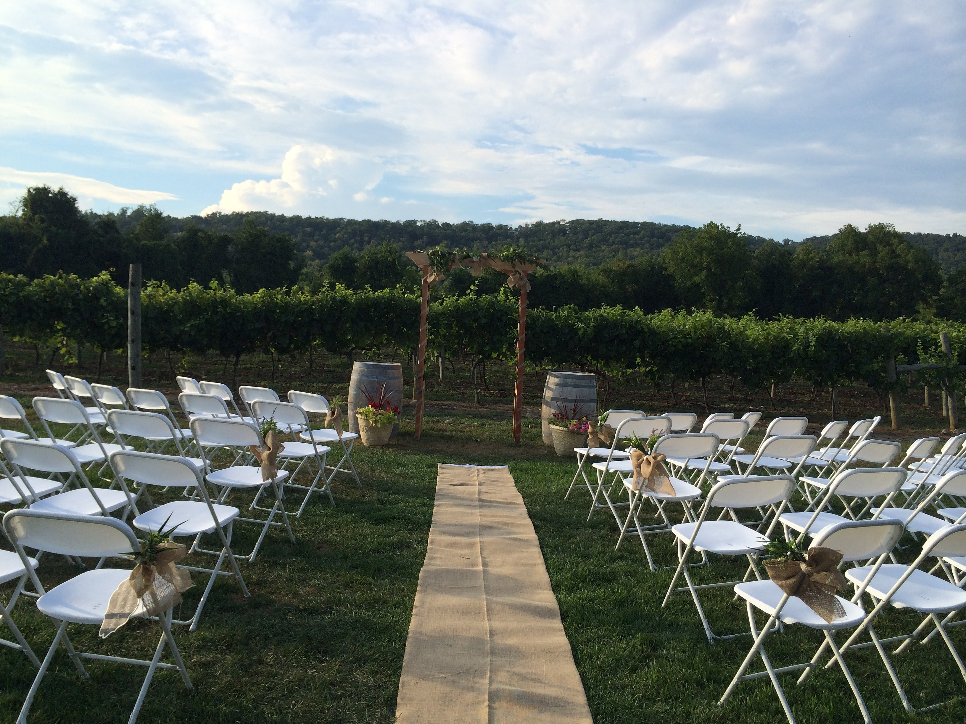 Cava Winery and Vineyard | Outdoor Wedding Ceremony