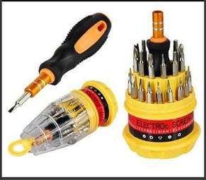 Set de destornilladores x31 diagonalesdigital for Set de destornilladores
