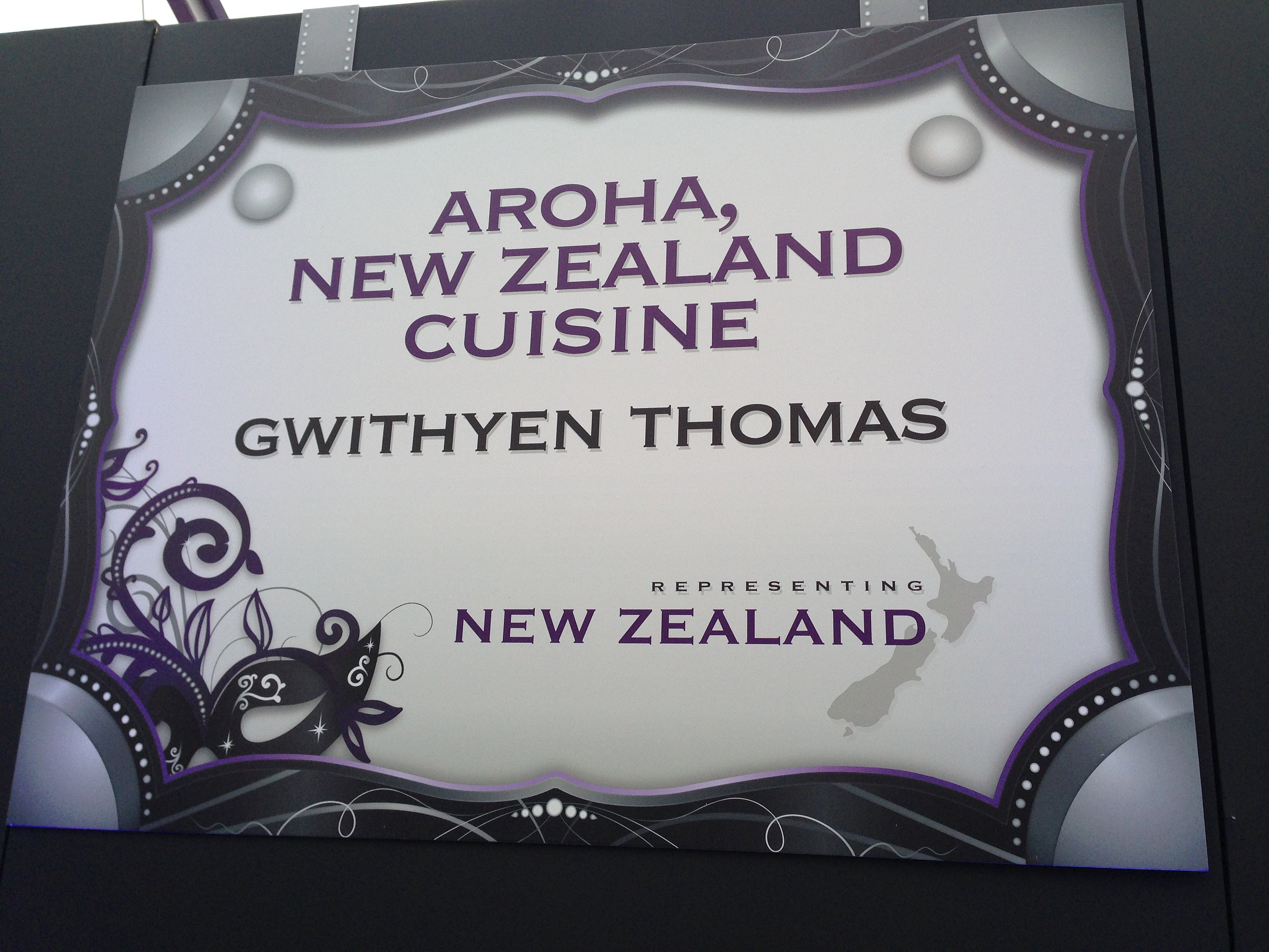 Aroha restaurant breeder 39 s cup taste of the world 39 14 for Aroha new zealand cuisine