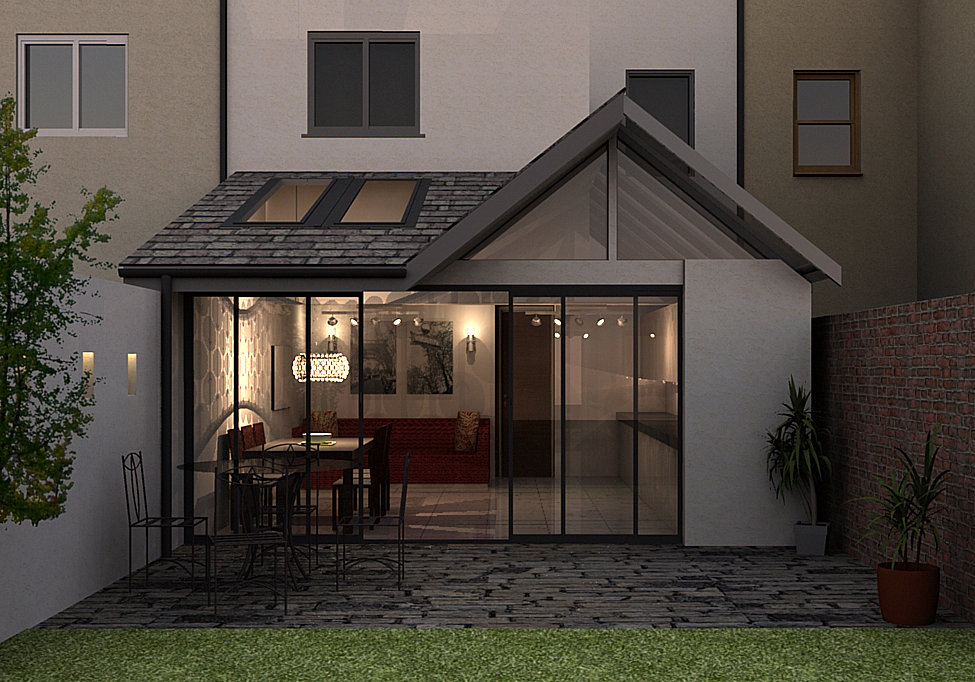 Taliesin architecture cardiff specialists in for Terrace extension ideas