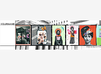 Top Art Template - This Artistic looking Header is fully customizable and lets you showcase your creative offerings to your customers with ease. Make it your own right now.