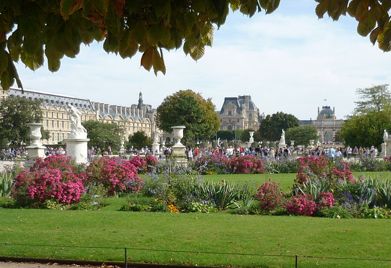 Jardin des tuileries for Au jardin paris