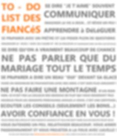 Infographie amusante à propos de VOTRE mariage.