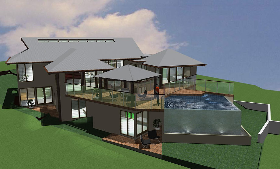 Balinese pavilion style house plans house design plans for Pavilion house designs