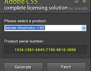 adobe illustrator cs6 activation code