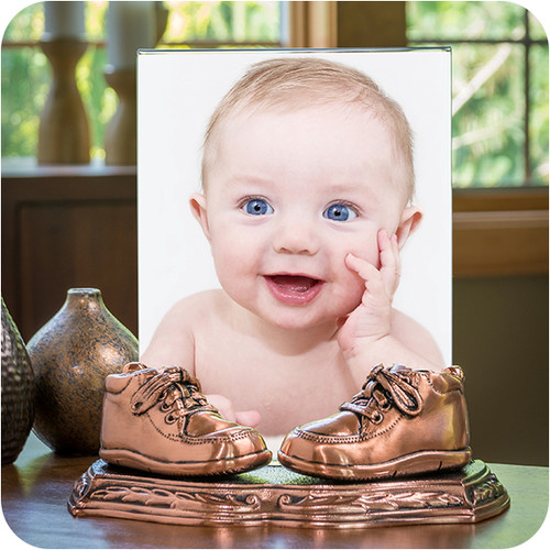 AMERICAN BRONZING CO. | Baby Shoes Bronzing