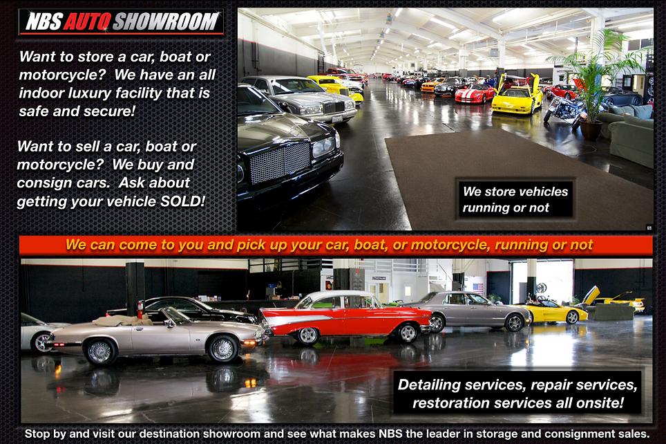 NBS Auto Showroom and Storage