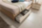 침실장 측면까지도 수납공간으로 활용하였으며, 책장/장식장 또는 양말/속옷 등의 수납장으로 사용하실 수 있습니다.
