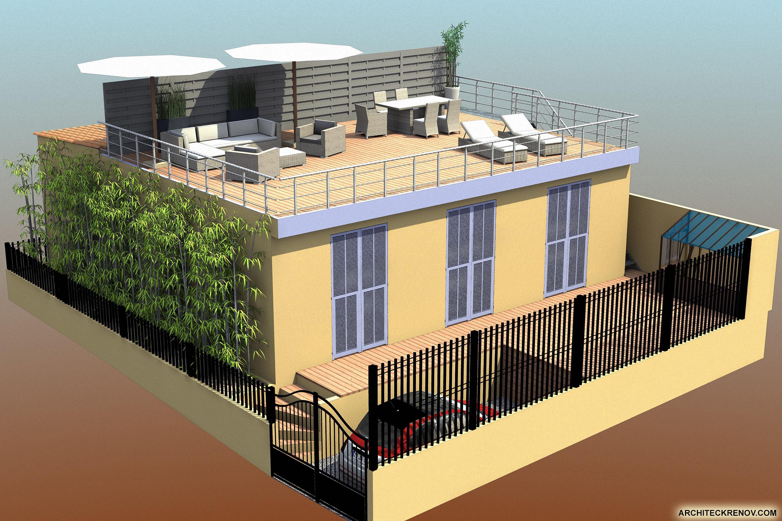 Toit Terrasse Ipn : Toit terrasse Nice Apr u00e9s