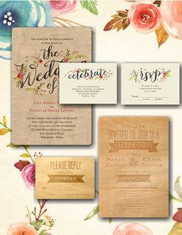 Blog Wedding Invitations Save The Dates Blue Daisy Design