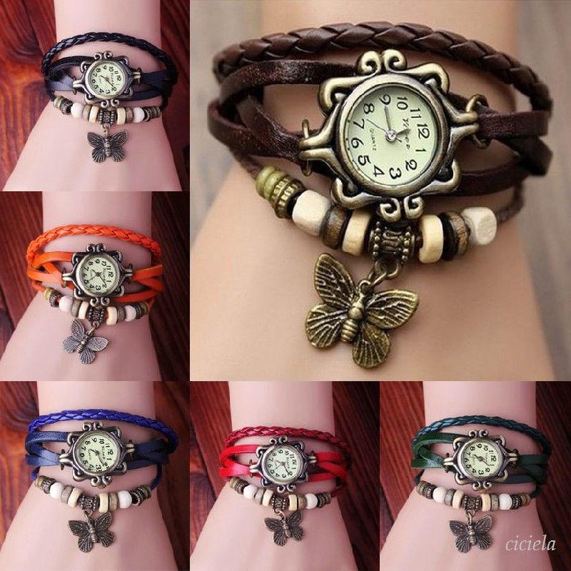Montre femme pas cher bracelet cuir \u20ac14.90 \u20ac29.00