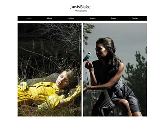 Fashion Photographer Website Template | WIX