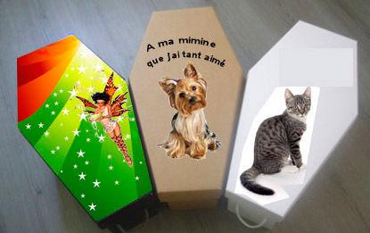 cercueil animaux