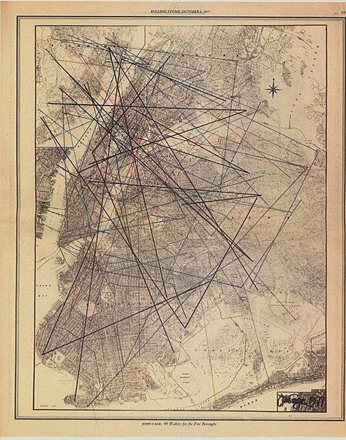 John Cage's Graphic Score