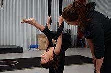 Kids Aerial Silks Lessons