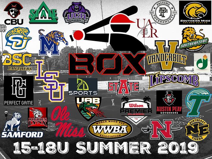 Batters Box 15-18U Teams