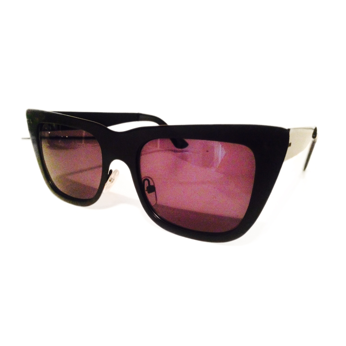 Don T Call Me Catty Black Sunglasses Le Pink And Co