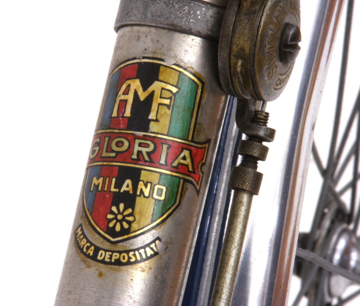 gloria close up downtube decal