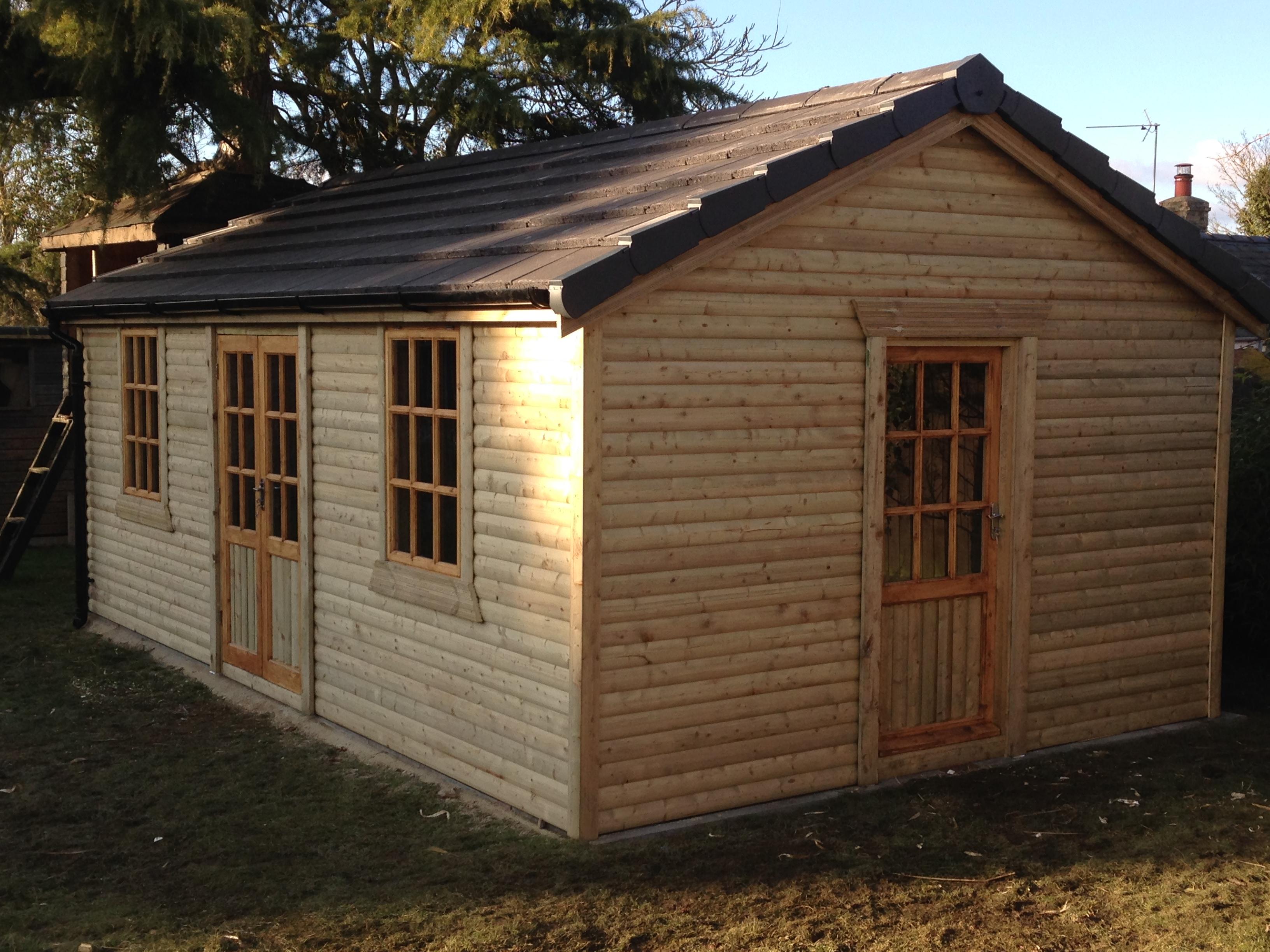 Bespoke Sheds Outbuildings Workshops Log Cabins Summer Houses